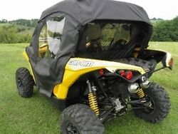 Full Cab Enclosure For Existing Hard Windshield Can-am Maverick New 2 Colors