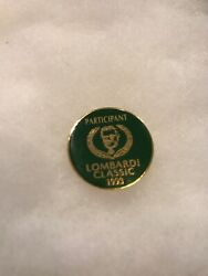 Green Bay Packers Lapel Pin Participant Classic Vince Lombardi 1993 90s Rare
