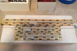 Nos Ford D0zz-65423a84-a A82-a 1970 Mach 1 Rear Panel Mouldings Set Of 3 Rare