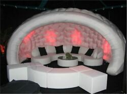 Hot Sale Inflatable Bar Tent With Led Light And Blower Qt
