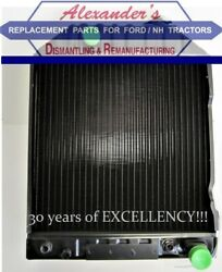 82980244 Radiator For Ford New Holland Tractors 5610, 6610, 7610 1981-1989.