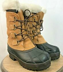Whitetail Boots by Hathorn Womens  Lace Up Leather Size 7.5  Removable Liner