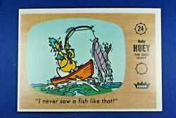 1960 Fleer Casper - 24 I Never Saw A Fish Like That - Ex++ Condition