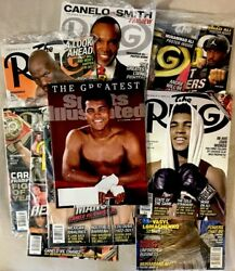 10 Muhammad Ali Commemorative Magazines And Posters The Ring And Sports Illustrated