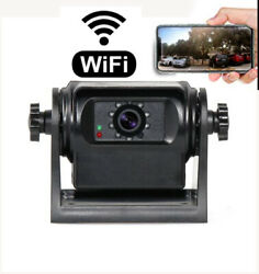 Rv Wireless Backup Rear View Camera Wi-fi Hitch Magnet Truck Trailer Security