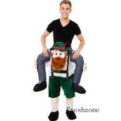 Party Clothing Outfits Ride On Bavarianbeer Man Mascot Costume Adult Fancy Dress