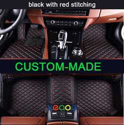 Car Floor Mats For Acura Cdx 2016-2018 Waterproof Non-slip Leather Car Carpets