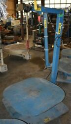 3500 Lb Coilmate Pallet Decoiler 42andprime X 42andprime Pallet 37andprime Coil Stack Height 0 To 26
