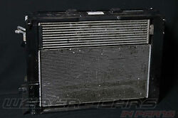 Bmw 5er F10 F07 550ix Cooling Fan Package Radiator Air Conditioning Condensor