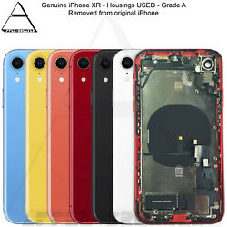 Genuine Apple Iphone Xr Back Rear Chassis Housing With Parts Grade A