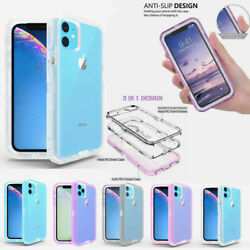 For Apple Iphone 11 Pro Max Transparent Case Cover Works With Otterbox Clip