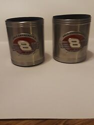 Dale Earnhardt Jr 8 Budweiser Collectible Beer Stein Can Cooler Used