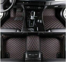For Ford Mustang 2008-2020 Car Floor Mats Front Rear Liner Waterproof Auto Mat