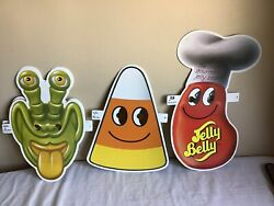 Vintage Mixed Lot Of 6 Goelitz Confections Paper Epherma Jelly Belly Spaceheads