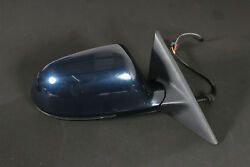 Orig. Audi A5 8t Coupe Exterior Mirror R Right Blue Right Wing Mirror Blue