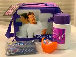 Ricky Martin Lunch Box - 1999 Vintage Collectible Purple Thermos