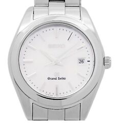 Grand Seiko Quartz Stainless Steel Womenand039s Casual Watch 4j52-0ab0 Used