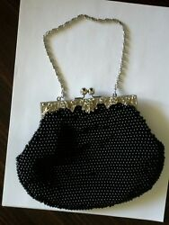 Womens evening clutches Party Prom Wedding Banquet Beaded Purse Bag $14.00