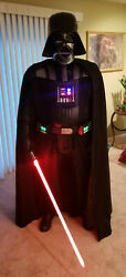 Used PREMIUM Darth Vader costume complete with Lightsaber