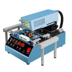 Regeni Bk-200s Soldering Station As Rework System By Top And Bottom Heating