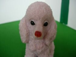 Pink Poodle Dog Carving Made From Pink Opal Stunning