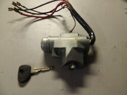 Vw-bus Ignition Switch Black Housing. Late 72-74 All T-2.. Bus.40a12