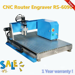3 Axis Cnc Router 6090 Mini Engraving Machine Milling Engraver Wood And Aluminum