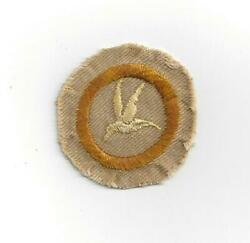 Ornithology 1912 2 issued Teen Merit Badge Type AA Boy Scouts of America BSA