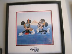 Disney – Snorkeling From The Wonder Cruise Ship Limited Edition With Ca- 700.00