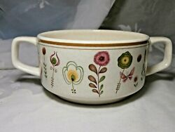 1 Temper-ware 2-handled Soup Or Open Sugar Bowl By Lenox Sprite Pattern Usa