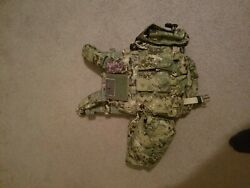 Tactical Molle Modular Vest Outdoor Utility Plate Carrier Military Semapo 6094l