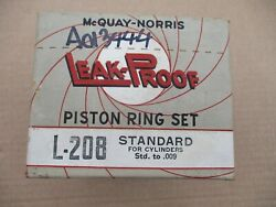 Piston Rings 1929 1930 1931 1932 - 1934 Chevy Car And Truck 6 Cyl Engine Std Size