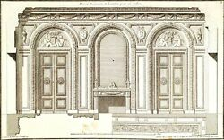 8 Engraving. Recueil Elementaire D.architecture. J.f.neufforge.france.circa 1755