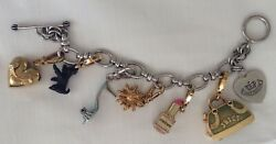 Juicy Couture Monopoly Charms Dog, Lipstick, Crown, Shoe, Heart, Bag And Bracelet✨