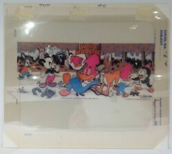 1972 Aladdin Woody Woodpecker Lunch Box Thermos Separation Sheets Art Very Rare