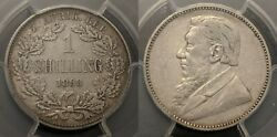 South Africa 1893 Shilling 1/- Pcgs Xf40 Km5