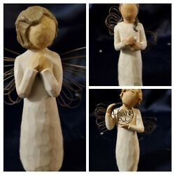 Willow Tree Thank You Girl, Angel Of Wishes, Angel Of Warmth