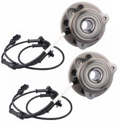 2x Front Wheel Hub Assembly For 95-01 Ford Explorer 97-01 Mecury Mountaineer