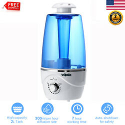 2L Baby Room Essential Diffuser Warm Mist Ultrasonic Aromatherapy Humidifier US