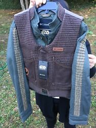 Rare Nwt Columbia Star Wars Rogue One Jyn Erso Rebel Jacket Women's Size Large