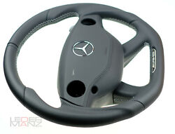 Mercedes Custom Steering Wheel S Class Cl W221 W216 Amg Paddles + Leather Srs