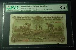 Rare Rare 1929 Ireland Erie National Bank 5 Pounds
