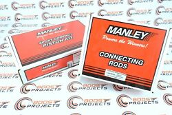 Manley Pistons And Rods 86mm Bore 101 Cr For Toyota Supra Twin Turbo 2jzgte 3.0l