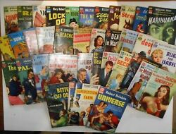 Dell 10 Cent Books- Entire Collection 1-36 Paperback 1951 All Good To Vg