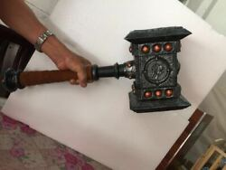 World Of Warcraft Doomhammer Model 11 Figure Statue Resin Toy Wow Collectibles