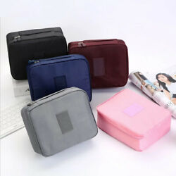 Multifunction Travel Cosmetic Bag Makeup Case Pouch Toiletry Wash Organizer Bag $5.68