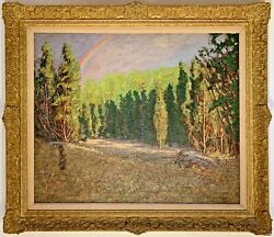 Listed Artist Samuel Harkness McCrea (1867-1941) Signed Oil On Canvas Painting