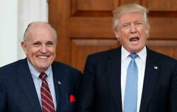 Rudy Giuliani Donald J Trump Glossy Poster Picture Photo Banner President 5591