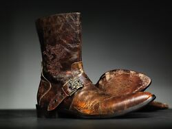 New Mark Nason Skidway Dragon Rock Boots Us 9.5 Distressed Brown