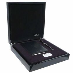 S.t. Dupont Picasso Black Lacquer Fountain Pen Writing Kit, 410046c2, New In Box